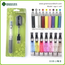 GreenSound e cigarette pen EGO CE4 Blister package electric vape color smoke