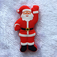 Promotional Customized Design Bulk Santa Claus Shape Santa Claus Christmas USB Flash Drive Cheap