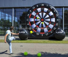 Giant inflatable soccer dart board for sale,doinkit darts magnetic dart board game with balls