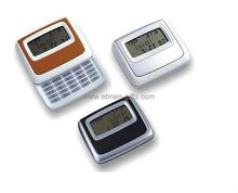 Digital Clock Calendar With Calculator