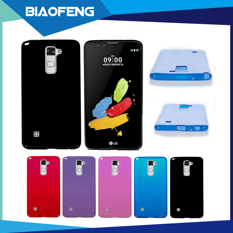 Top selling in alibaba smart health protective soft tpu cell phone case for lg ls775/stylus 2
