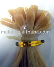 U bond hair extension in remy hair quality Italy glue
