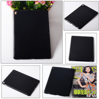 Black color hard case PC cover for ipad pro 9.7 PC matt back case
