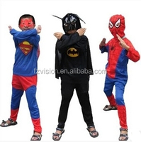 Wholesale Halloween super hero costumes kids superman costumes for sale