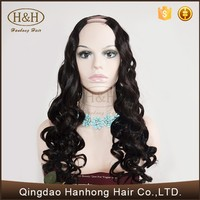 Wholesale Top Quality Hot Sale Brazilian Synthetic U part Wig