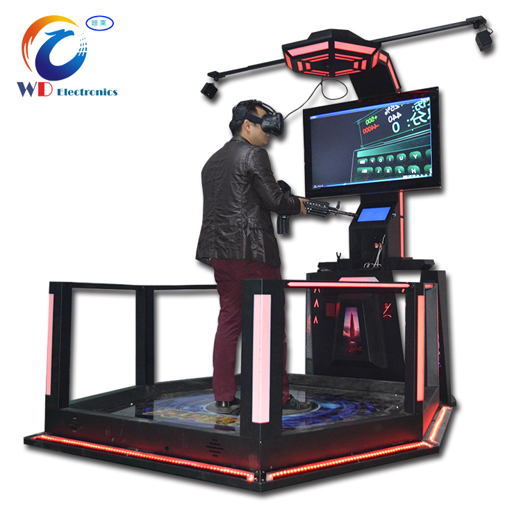 Interactive Shooting Game 9d vr Shopping Mall Game Machine , Virtua Reality 9d Vr