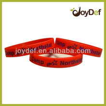 2016 Factory Direct Supply Cheap Personalized Debossed Printed Silicone Bracelet