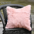 CX-D-05G Factory Wholesale Customized Size Fur Cushion Sofa Pillow