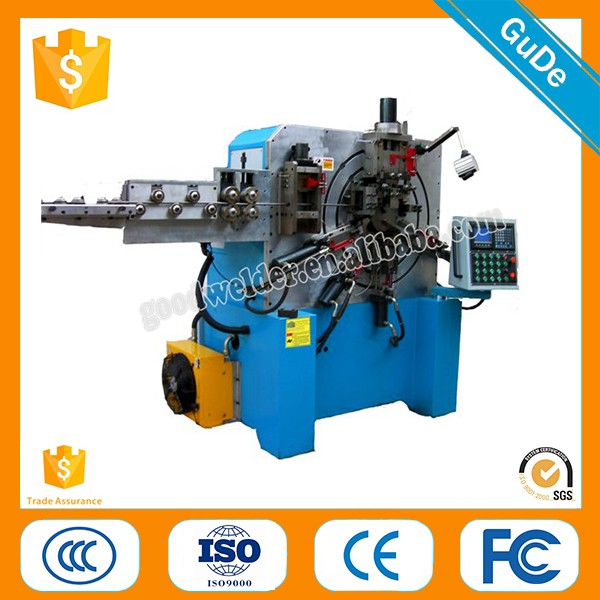 2016 hot sale Automatic Iron / Steel Wire Ring Making and Butt Welding Machines for Clothes Hanger