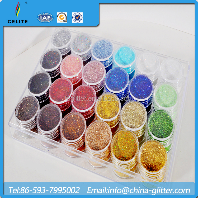 Colorful Glitter Powder For Nail Polish