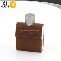 free sample 100ml Square clear empty glass perfume spray bottles with aluminum cap
