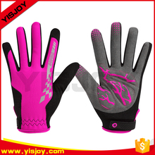 Women bike bicycle cycling professional full finger best winter bike gloves