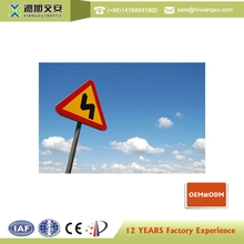 plate reflective film industrial safety signs reflective sign board