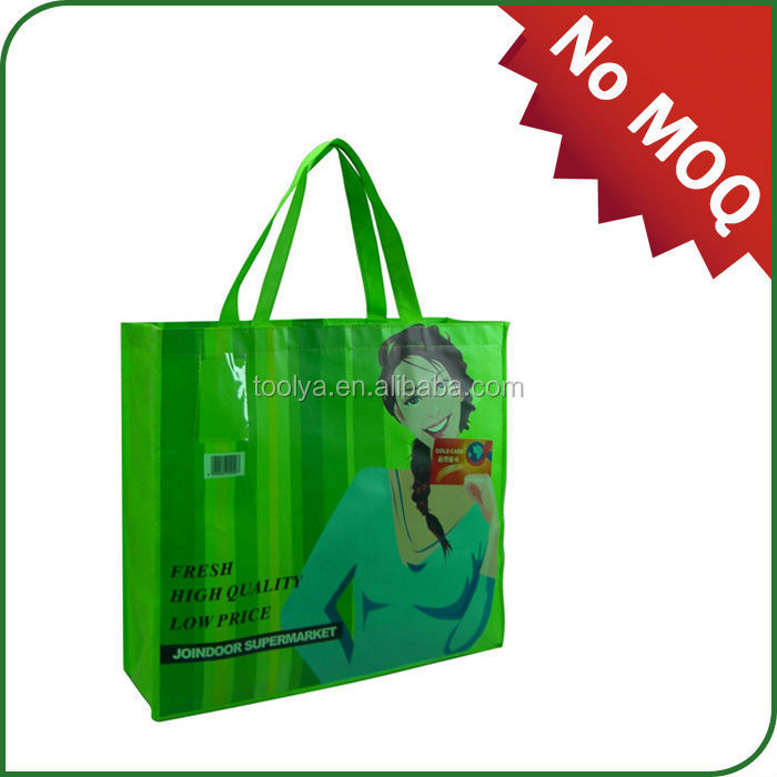 2015 new material recycled shopping RPET bag