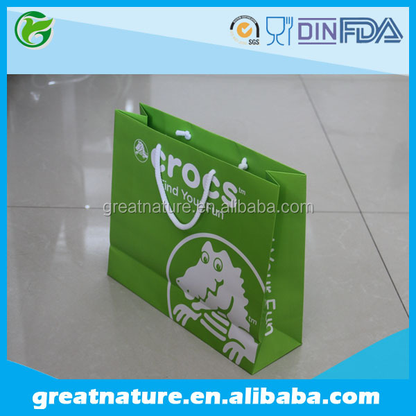 Printed shopping paper bags manufacturer