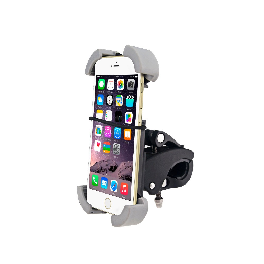 Newest--Metal Stability Bike Mount Holder For Universal mobile phone