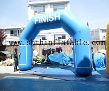 cheap inflatable finish line arch