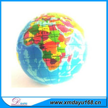World Map Globe Stress Relief/Squeeze Ball