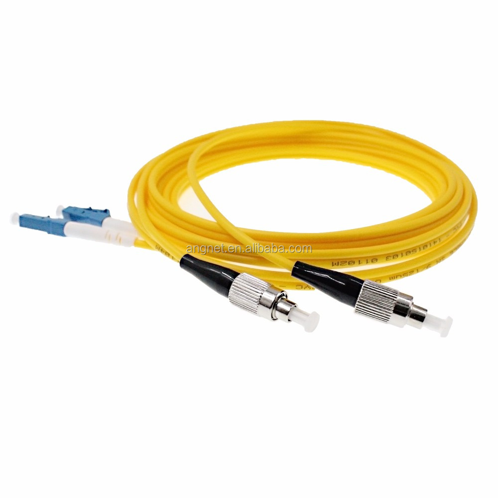 2.0mm Duplex LC/UPC-FC/UPC Optic Patch Cord G657A FC to LC SM fiber
