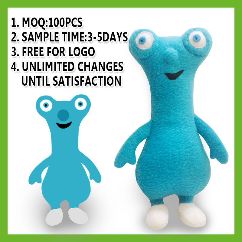 High quality best made cuddly custom stuffed animals plush toys with low price