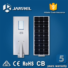 Manufacturer directly sale 8W 15W 20W 30W 40W 60W Integrated all in one Solar LED Street Light price