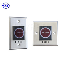 RFID Infrared Sensor no touch door access control exit button with cheap price