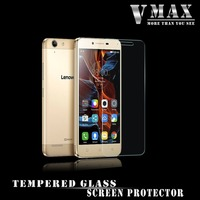 2016 Wholesale! Super Clear Anti shock 0.2mm 2.5d curved edge 9H tempered glass screen protector for Lenovo vibe K5