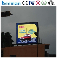 clear video advertising led panel outdoor led advertising panel price full color advertising led double side