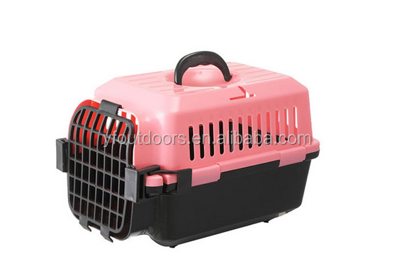 High quality good price pet flight cage with wheel