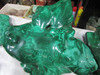 decoration usage rough malachite for wholesale with best price