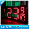 gas station led price sign/plastic price sign/gas station led price digital sign