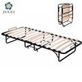 space saving movable folding cot metal slats bed frame DJ-PQ14