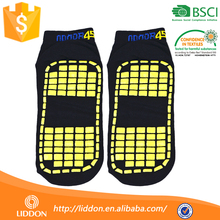 Wholesale Non Skid Dots Ankle Anti Slip Indoor Sock For Adults, Latex Rubber Sole Slipper Man Sock