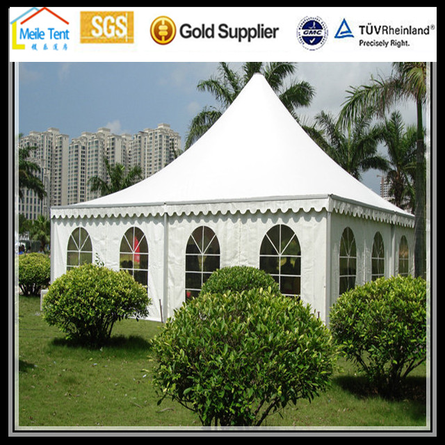 Guangzhou white Nigeria Africa excellent designed white wedding party outdoor pagoda