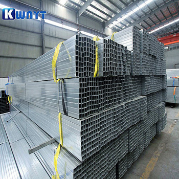 Made in China 50*25mm pre galvanized rect steel tube