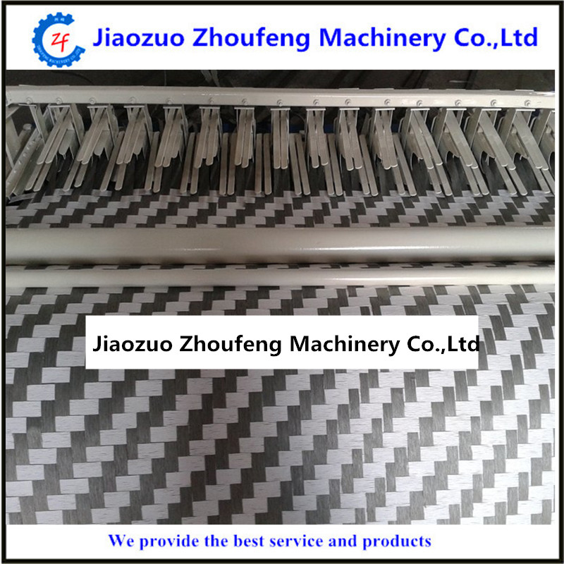 Paper mat weaving knitting machine