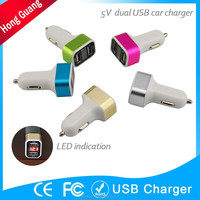 12v usb power bank car charger for mobile phone
