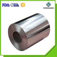 Heat sealing strength metallized bopp film aluminum polypropylene film for food packaging