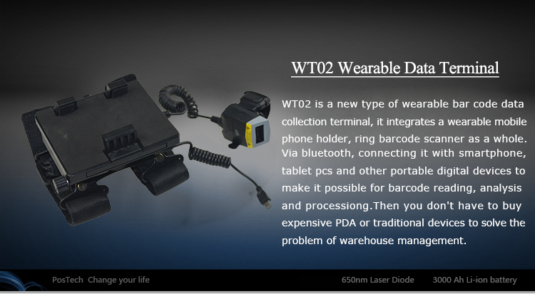 WT02 Wearable Smart Data Terminal
