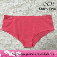Sexy red daily wear no line panty cuostom design seamless panties underwear