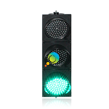 10 years factory PC material road safety DC12V traffic light 200mm