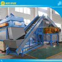 Waste Tire Recycling Equipment for Rubber Chips in Best Price