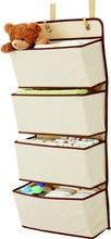 4 Pocket Nursery Organizer/Pocket Organizer hangging on door or wall/Inexpensive with high quality