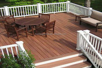 [1]Durable Wood plastic WPC raw material decking