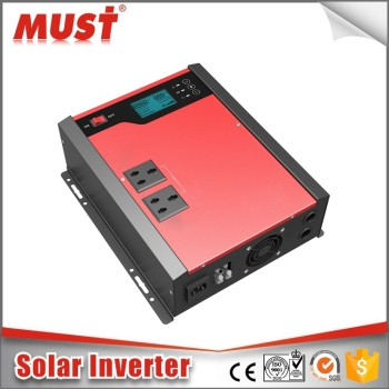 MUST off-grid solar 2kva power inverter dc 24v ac 220v inverter with PWM
