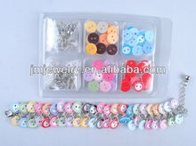 plastic buttons set cheap price yiwu jewelry market cheap costume jewelry sets