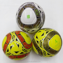 soccer shoes new design 100% PU material hand ball quality soccerball