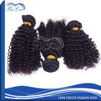 Hot Sell Indian Kinky Hair Tangle and Shedding Free 100gram Per Piece Thick End Double Weft Afro Kinky Human Hair For Braiding