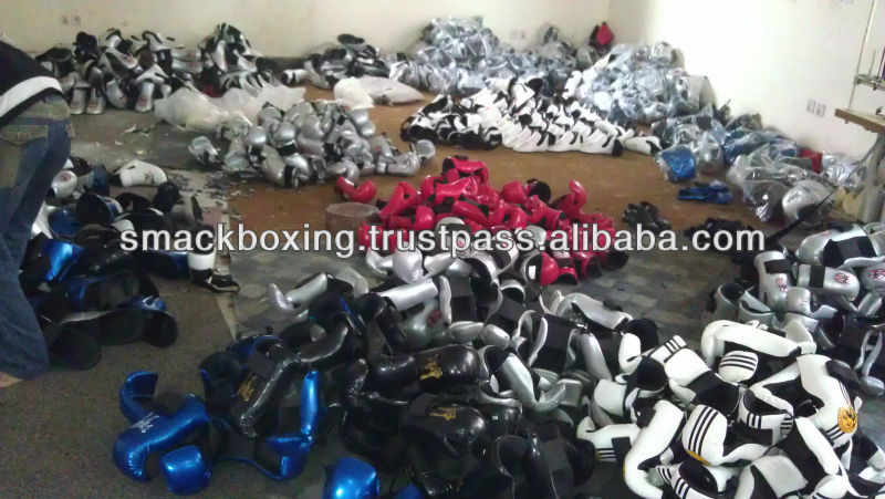 BOXING EQUIPMENTS READY TO BE CHECKED AND PACKED IN OUR PRODUCTION HALL