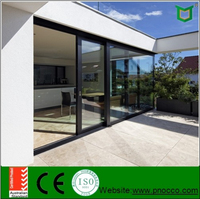 Aluminum Alloy sliding Windows and doors, sliding doors with tope quality and low price PNOC00419SLD